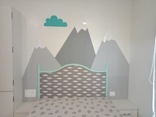 Residential Country style nursery/kids room by Olive interiors Country