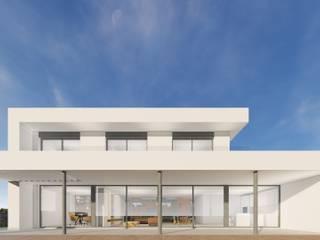 Proyecto de vivienda en las Manchas de CORREA + ESTEVEZ ARQUITECTURA Moderno