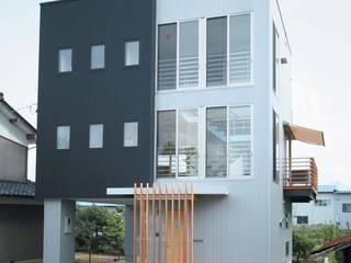 リバーサイドハウス の 岩泉建築設計スタジオ オリジナル