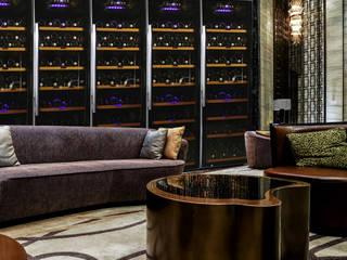 Ruang Penyimpanan Wine/Anggur Modern Oleh Datron | Cantinette vino Modern