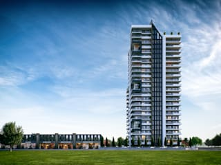 The West Çalık Konsept Mimarlık Apartman