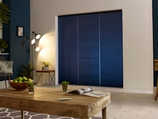 ULTRA Smart blinds for bi-fold doors por Appeal Home Shading Moderno