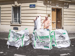 Évacuation des déchets de chantier - Appartement rue Ruhmkorff, Paris Big Bag 'n Go