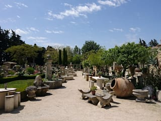 Atelier Alain BIDAL : un parc paysagé de 3 hectares ouverts à tous situés à l'Isle sur la Sorgue (Vaucluse) Atelier Alain BIDAL - Taille de pierre et Matériaux anciens en Provence Maisons méditerranéennes Pierre