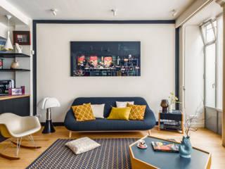 Modern Living Room by KERMAREC Modern