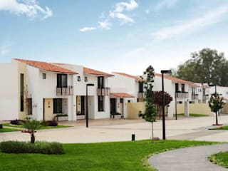 Aertenica MX Casas de estilo mediterráneo