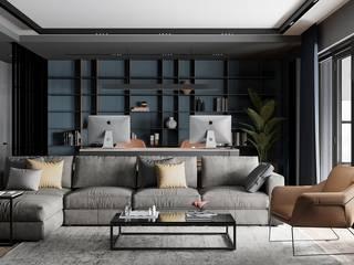 Апартаменты в Краснодаре Гостиные в эклектичном стиле от ARTSTUDIO Design & Construction Эклектичный