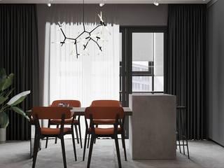 Апартаменты в Краснодаре Столовая комната в эклектичном стиле от ARTSTUDIO Design & Construction Эклектичный