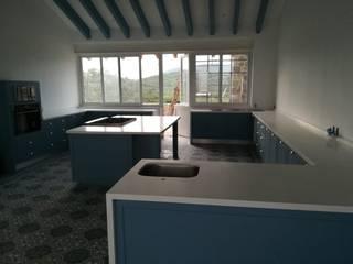 cocina moderna de cocinascafeteriasmodernas Moderno Cuarzo