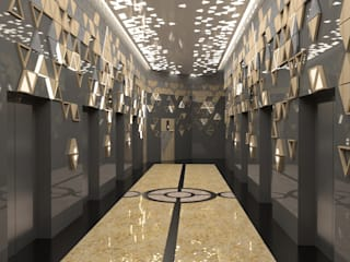 3D VISUAL SERVICE FOR LIFT LOBBY AT KENANGA INTERNATIONAL, KUALA LUMPUR by eL precio