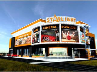 Dự án Trung tâm giải trí Starlight Đà Nẵng - HOMEMAS thi công sàn nhựa Vinyl :  Phòng giải trí by HOMEMAS ( THÀNH VIÊN CÔNG TY CỔ PHẦN QHPLUS ), Hiện đại