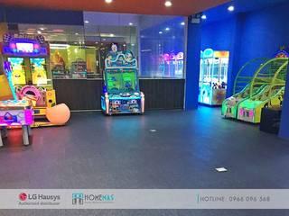 Dự án Trung tâm giải trí Starlight Đà Nẵng - HOMEMAS thi công sàn nhựa Vinyl bởi HOMEMAS ( THÀNH VIÊN CÔNG TY CỔ PHẦN QHPLUS ) Hiện đại