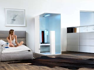 Minimalist bedroom by SPA Deluxe GmbH - Whirlpools in Senden Minimalist