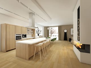Built-in kitchens by Projektwnet, Modern