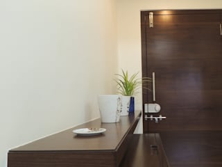 Interior Rennovation for Mr. & Mrs. Bhople, Nashik Modern living room by Dastakari Modern