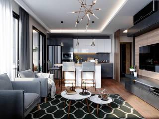 Çalık Konsept Mimarlık Living roomAccessories & decoration