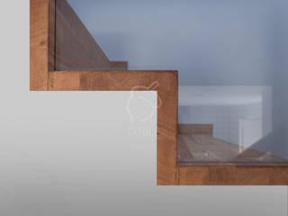 Escaleras de estilo  por Roble , Minimalista