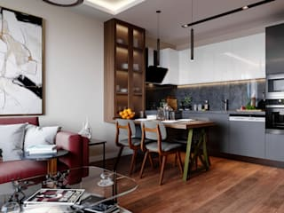 Çalık Konsept Mimarlık KitchenCabinets & shelves