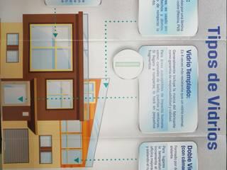 cómo elegir tipo de vidrio de alupratic Moderno
