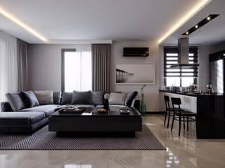 Çalık Konsept Mimarlık Interior landscaping Black