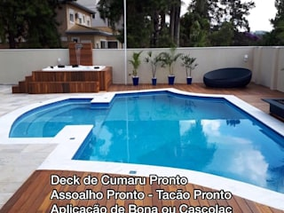 Classic style pool by solideck com. mad. e servicos eirelli Classic