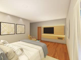 Design de interiores : Quartos  por Outline Arquitetura,Moderno