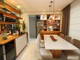 Comedores de estilo moderno de Serra Vaz Arquitetura e Design de Interiores Moderno