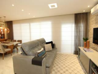 Salones modernos de Serra Vaz Arquitetura e Design de Interiores Moderno