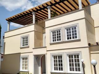 TexturiForm Balcones y terrazas clásicos Acabado en madera