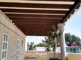 TexturiForm Balkon, Beranda & Teras Klasik