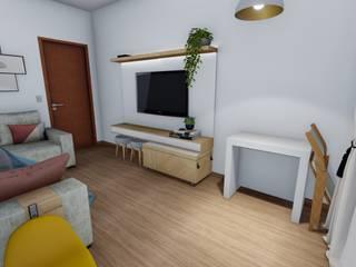 Igor Cunha Arquitetura Modern living room