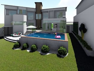 Igor Cunha Arquitetura 泳池
