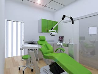 PROPOSED INTERIOR DESIGN FOR DENTAL CLINIC AT PUTRA MAHKOTA, BANGI, SELANGOR by eL precio Modern
