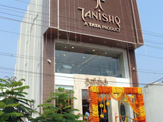TANISHQ SHOW ROOM by KG BUILDTECH