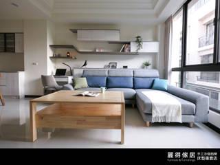 訂製沙發客人實拍(一): 斯堪的納維亞  by 麗得傢俱訂製沙發櫥櫃家具, 北歐風