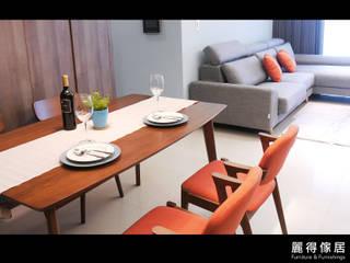 訂製沙發客人實拍(三): 斯堪的納維亞  by 麗得傢俱訂製沙發櫥櫃家具, 北歐風