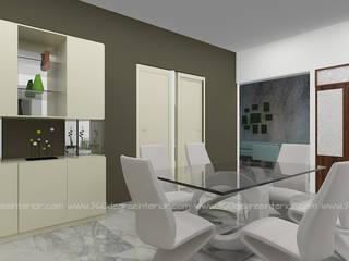 Minimalistische Esszimmer von 360 Degree Interior Minimalistisch