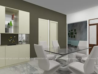 Minimalist dining room by 360 Degree Interior Minimalist