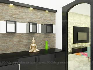 Minimalistische Wände & Böden von 360 Degree Interior Minimalistisch