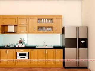 Gỗ dổi tự nhiên và cách tính gía một bộ tủ bếp hiện nay bởi Nội thất Nguyễn Kim