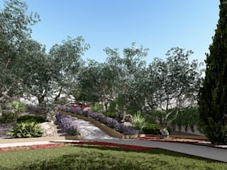 ARomeroPaisajismo Mediterranean style garden