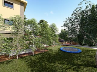 Paisajismo Poio, Pontevedra ARomeroPaisajismo Jardines de estilo mediterráneo