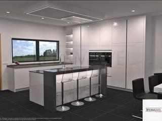 Projeto 3D - Para habitação em Marco de Canaveses (Portugal) por Tifermovel - Interior Design Moderno