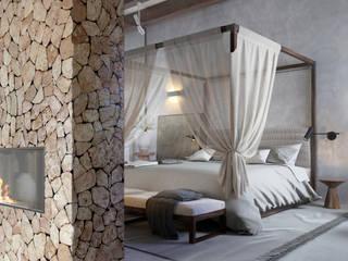 Vivienda en Son Vida. Mallorca Hema Interiors Dormitorios de estilo mediterráneo