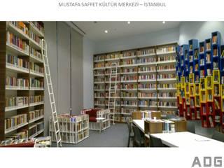 ADG İç ve Dış Tiç. – Mustafa Saffet Kültür Merkezi Kütüphanesi: modern tarz , Modern