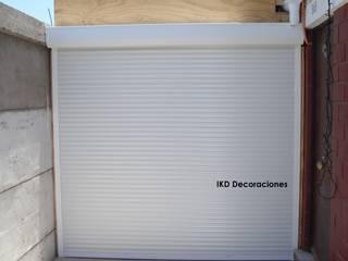IKD Decoraciones Garages & sheds Aluminium/Seng White