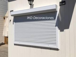 IKD Decoraciones Balconies, verandas & terraces Accessories & decoration Aluminium/Seng White
