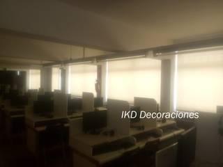 IKD Decoraciones Office spaces & stores Bahan Sintetis Beige
