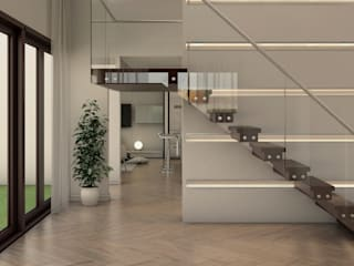 Stairs by Gabriela Afonso, Modern