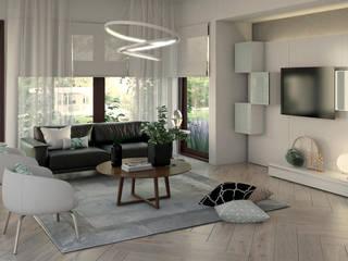 Casa Doral Salas de estilo moderno de Gabriela Afonso Moderno